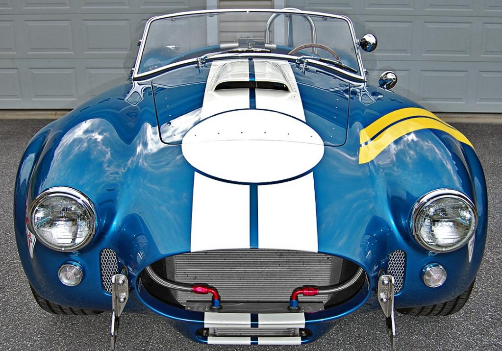 Superformance Shelby Cobra front