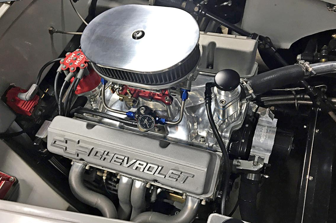 427 engine shot#4 of gray-primered Shell Valley 427SC Shelby classic Cobra for sale by owner