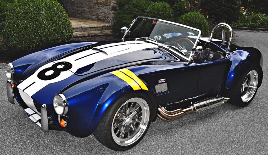 Shelby Cobra Backdraft front qtr.