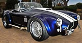 3/4-frontal thumbnail image of Shelby classic Marlin Blue 427SC Shelby classic Superformance MkIII Cobra for sale by owner, SPO1470
