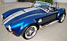 3/4-frontal view (thumbnail-sized) photo of Backdraft Racing 427SC Shelby Cobra for sale, BDR1325