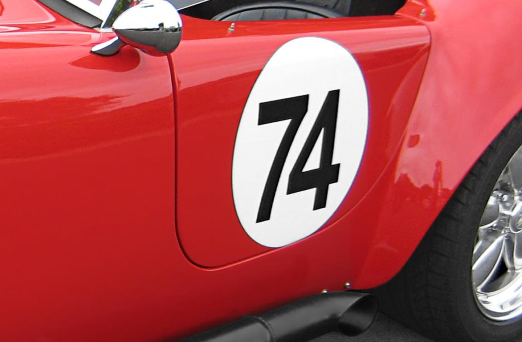 liver (meatball) photo of Ferrari Red Factory Five Racing 427SC Cobra for sale by owner