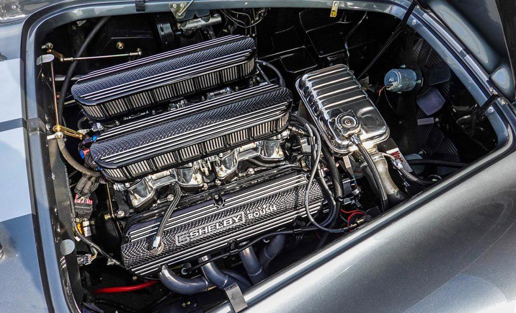 Roush 427IR engine photo#1 of Dark Silver Superformance 427SC Shelby classic Cobra for sale, SPO2938