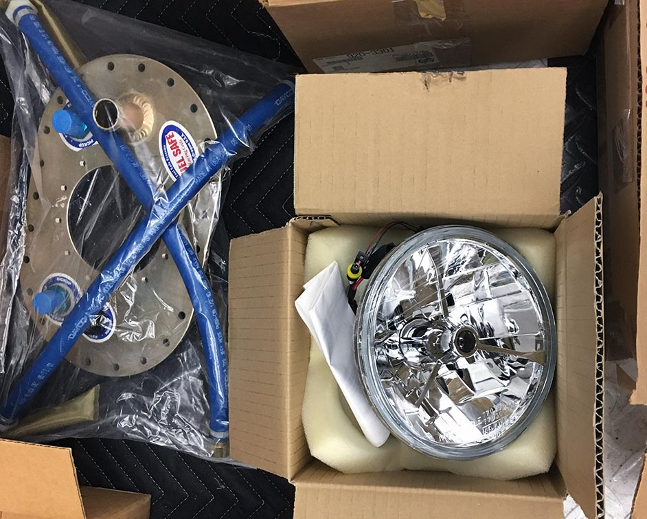 assorted component parts photo#E of uncompleted West Coast Cobra for sale, replica of classic Shelby 427 Cobra