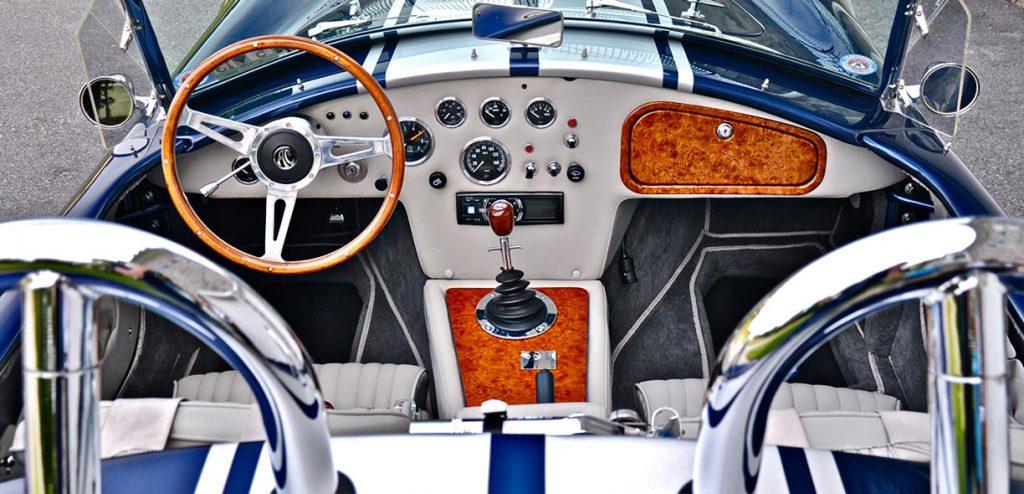 Shell Valley Cobra cockpit