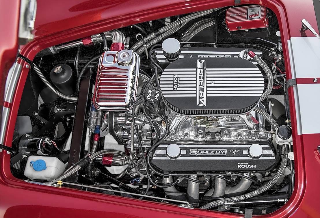 photo#1 of Roush 427R stroker V8 Sunset Red Superformance 427SC Shelby classic Cobra for sale, SPO2249