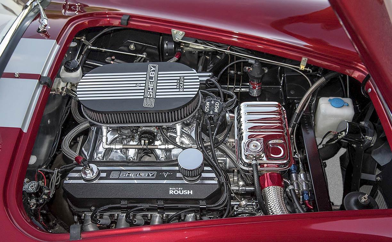 photo#2 of Roush 427R stroker V8 Sunset Red Superformance 427SC Shelby classic Cobra for sale, SPO2249