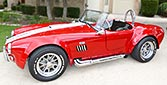 broadside thumbnail image of Rosso Corsa Red 427SC Shelby classic Shell Valley Cobra for sale by owner