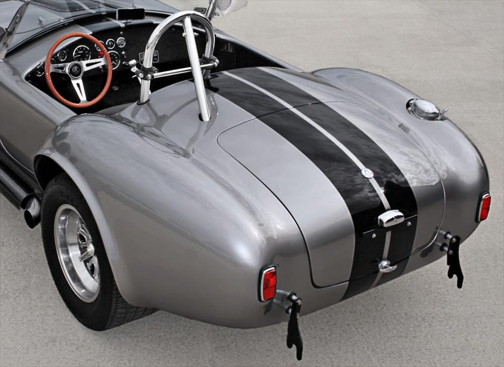 Shelby Cobra rear quarter