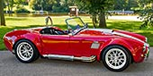 roadside thumbnail image of Ferrari Rossa Red 427SC Shelby classic Backdraft Racing Cobra, BDR333, for sale by owner