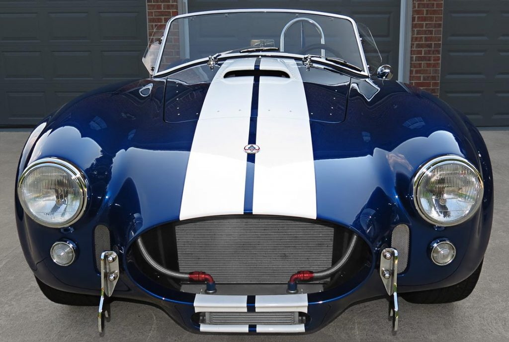 Superformance 427SC MkIII Cobra front view