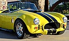 3/4-frontal thumbnail image of Candy Lime Gold FFR (Factory Five Racing) 427SC Shelby classic Cobra for sale by owner
