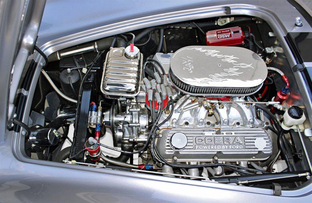 engine shot#1 of Coast High Performance 427 cid V8 in Superformance 427SC Cobra for sale, SPO1734