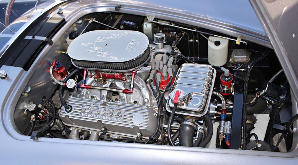 engine shot#2 of Coast High Performance 427 cid V8 in Superformance 427SC Cobra for sale, SPO1734