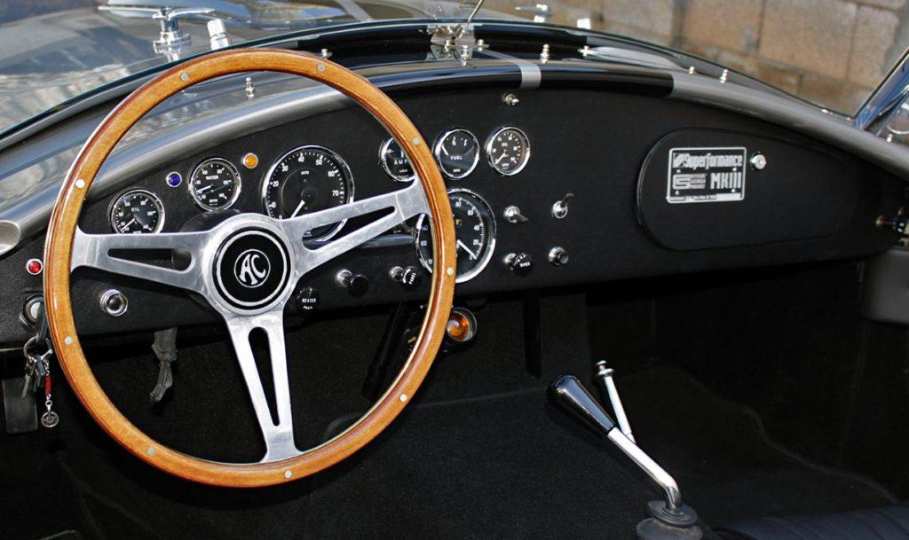 dashboard shot#1 of Superformance 427SC Cobra for sale, SPO1734