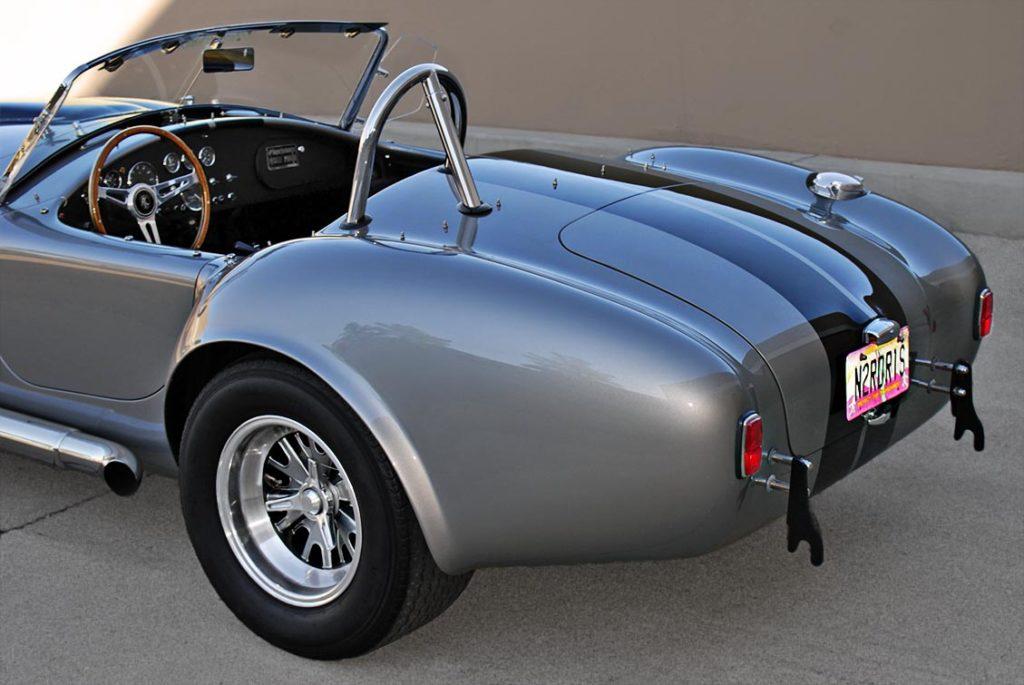 rear-quarter view of Titanium Superformance 427SC Cobra for sale, SPO1734