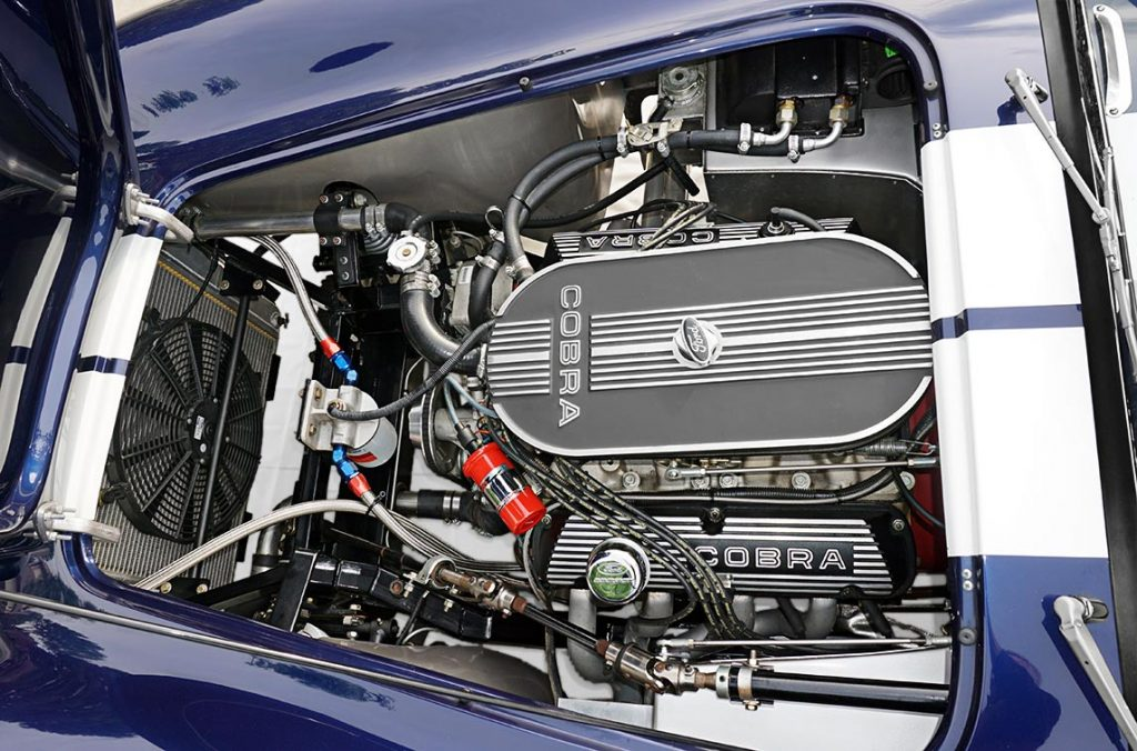photo#1 of Ford 351 Windsor engine in Audi Navarra Blue Unique Motorcars 427SC Shelby classic Cobra for sale