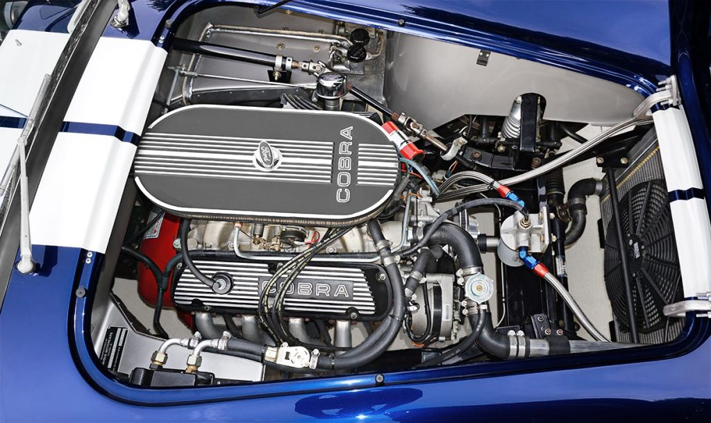 photo#2 of Ford 351 Windsor engine in Audi Navarra Blue Unique Motorcars 427SC Shelby classic Cobra for sale