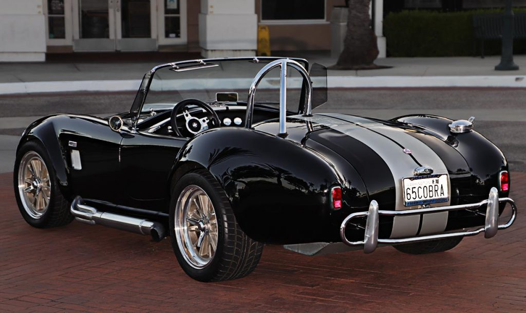 LAX Cobra replica rear quarter