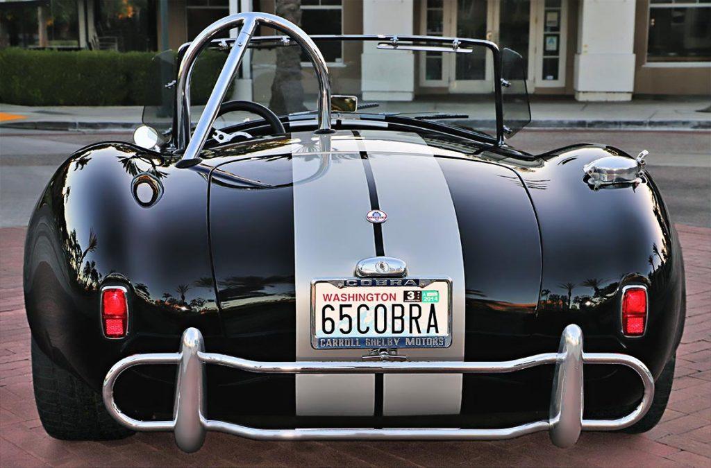 1965 Cobra replica rear