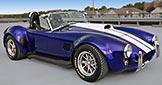 3/4-frontal thumbnail image of Cobalt Blue West Coast Cobra, Stallion-style Cobra, for sale