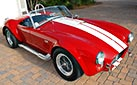 3/4-frontal thumbnail image of Phoenix Red E.R.A. 427SC Shelby Cobra vehicle for sale by owner
