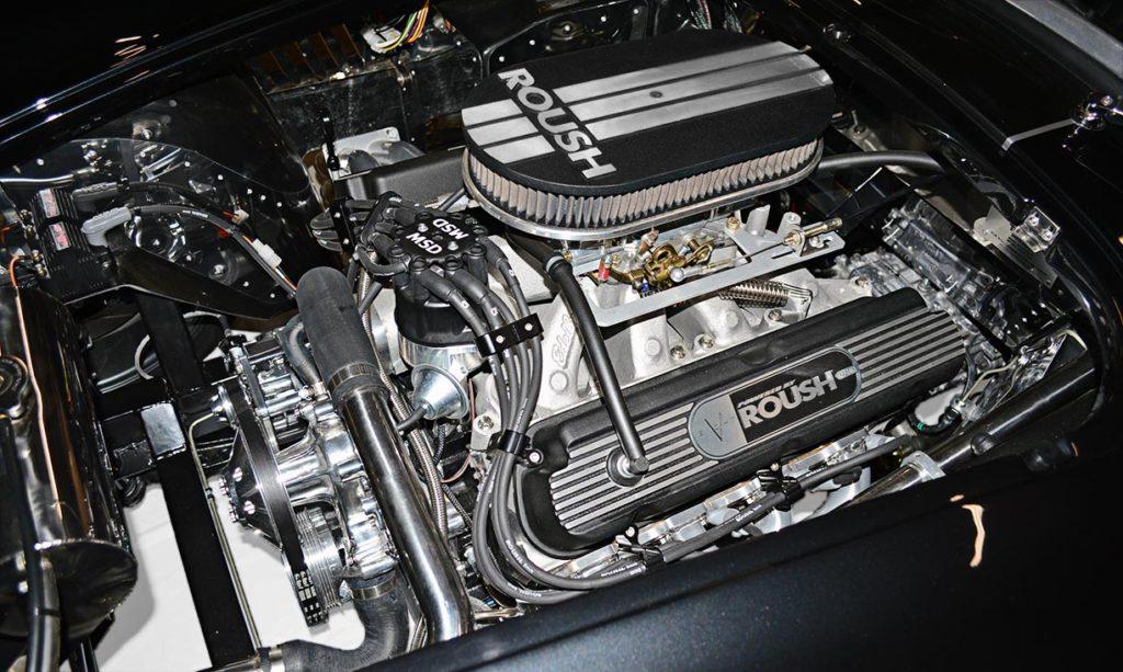 Roush 427 V8 (view#1) in black Backdraft Racing 427SC Cobra for sale, BDR1792