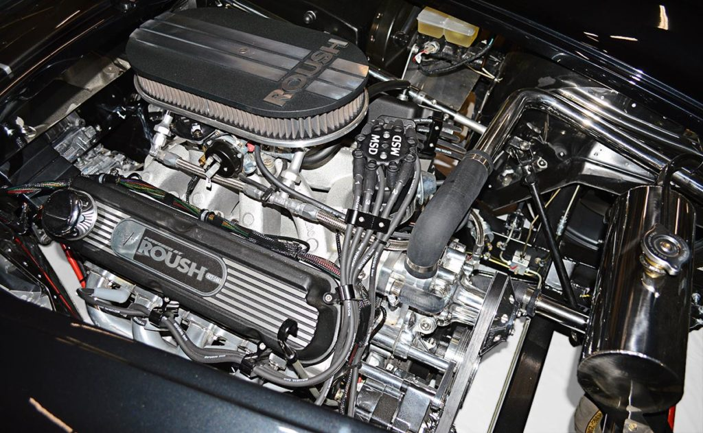 Roush 427 V8 (view#2) in black Backdraft Racing 427SC Cobra for sale, BDR1792