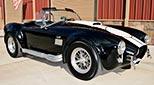 3/4-frontal thumbnail image of Onyx Black Superformance MkIII Cobra for sale, SPO2358