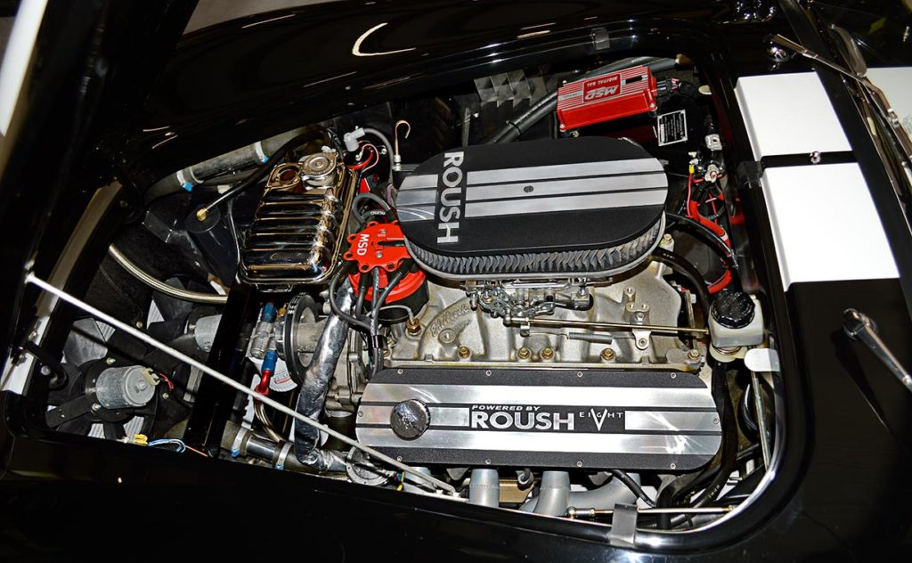 Roush 427cid V8, shot#1 in Onyx Black Superformance MkIII Cobra for sale, SPO2358