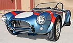 3/4-frontal thumbnail image of Viking Blue Superformance 289FIA Shelby classic Cobra replica for sale, SPO#0002