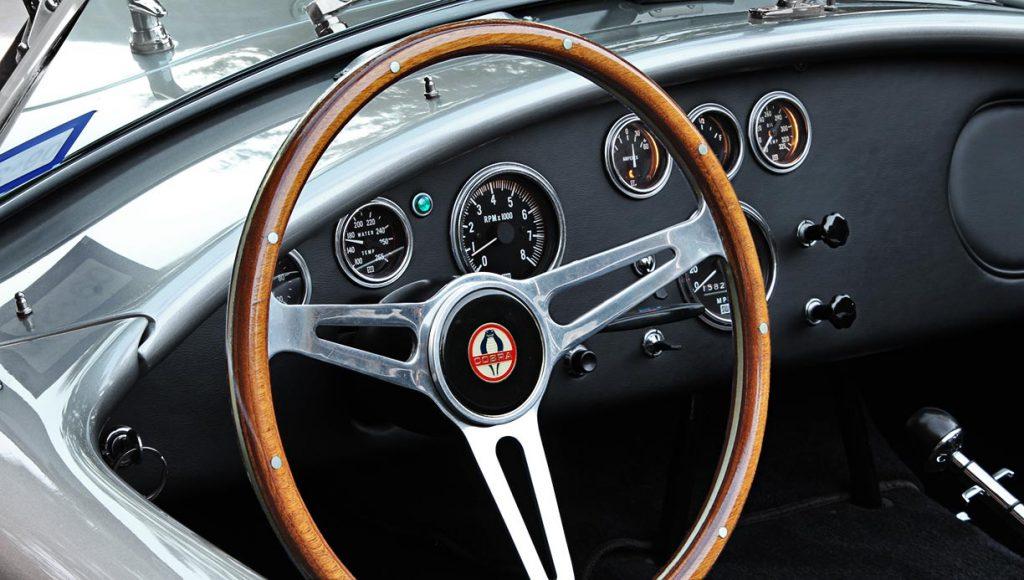 dashboard shot#1 of Titanium classic E.R.A. 427SC Cobra for sale