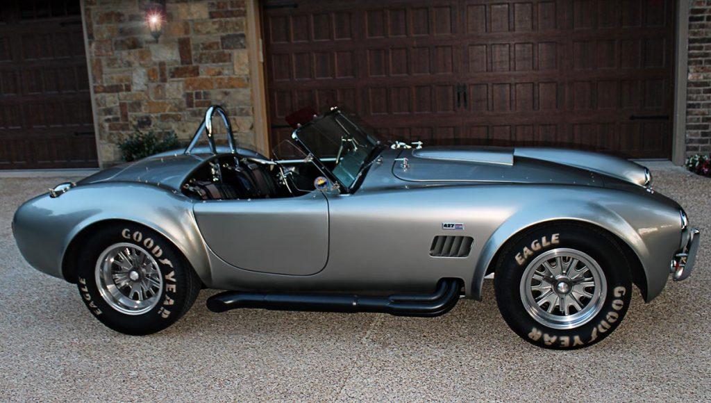 broadside shot#3 of Titanium classic E.R.A. 427SC Cobra for sale