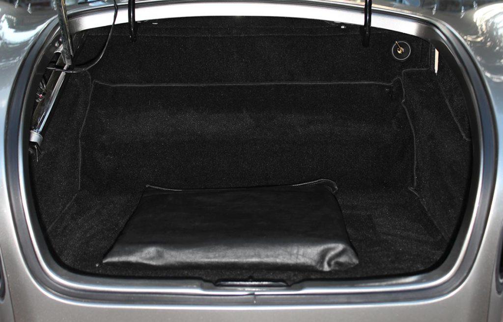 luggage compartment shot of Titanium classic E.R.A. 427SC Cobra for