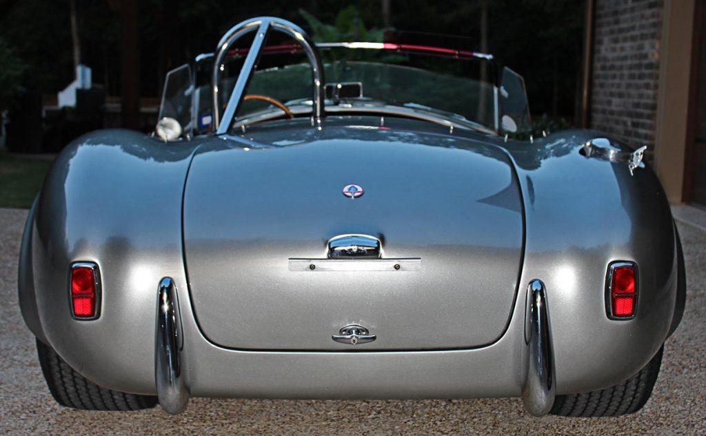 rearr shot of Titanium classic E.R.A. 427SC Cobra for sale