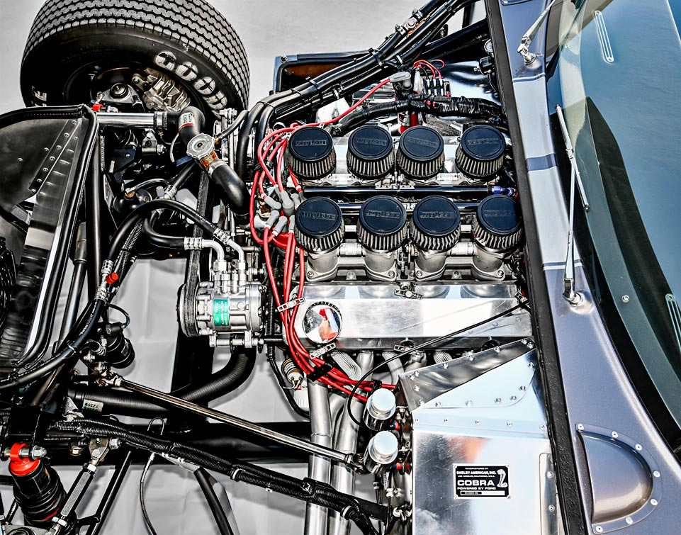 photo#1 of 289 (347 cid stroker) small-block engine in Tungsten Gray Type 65 Series II Daytona Coupe by Factory Five Racing, for sale by owner