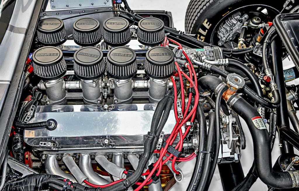 photo#2 of 289 (347 cid stroker) small-block engine in Tungsten Gray Type 65 Series II Daytona Coupe by Factory Five Racing, for sale by owner