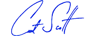 Curt Scott's standard CobraCountry signature